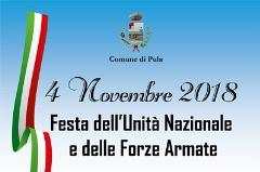 4 Novembre 2018. Celebrazione Festa dell'Unità Nazionale e delle Forze Armate.